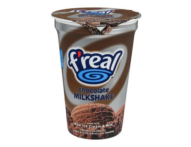 F`Real Chocolate Milkshake, 10 Fluid Ounce -- 12 per case