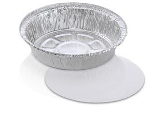 Jiffy Foil Round Combo with Laminated Lid -- 150 per case.