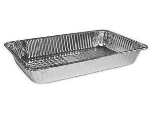 Jiffy Foil Full Size Deep Steam Table Pan -- 50 per case.