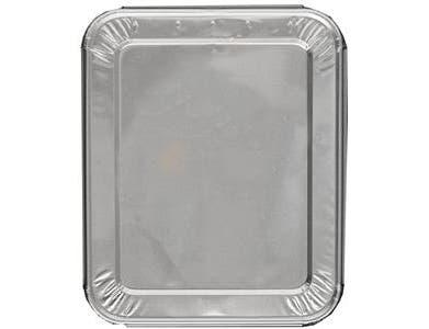 Jiffy Foil Half Size Steam Table Pan Lid -- 100 per case.