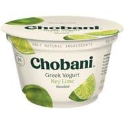 Chobani Low Fat Key Lime Blended Greek Yogurt, 5.3 Ounce -- 12 per case