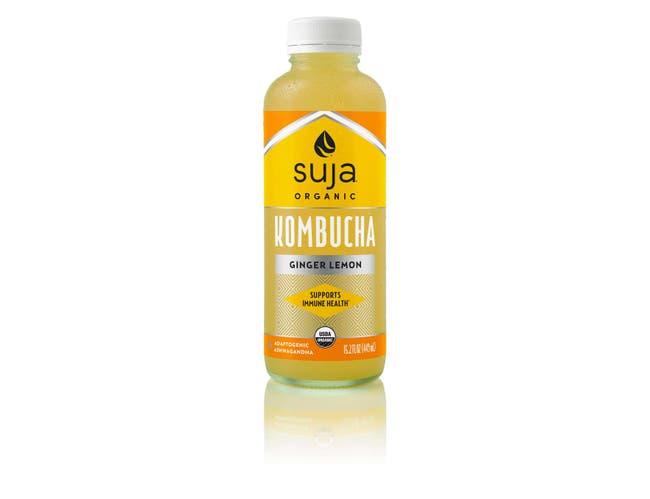Suja Ginger Lemon Kombucha, 15.2 Fluid Ounce -- 6 per case.