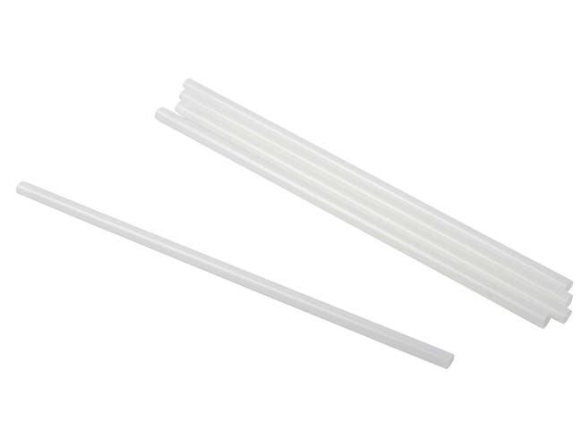 Primeware Clear PLA Jumbo Unwrapped Straw, 7.75 inch -- 6000 per case.