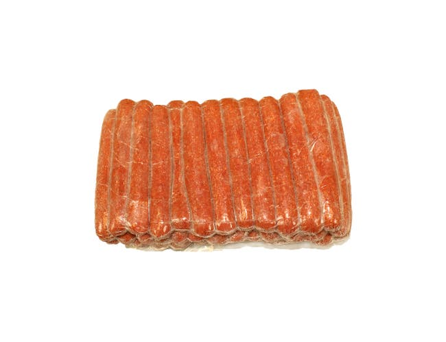HeartBrand 8 1 Beef Frank, 10 Pound -- 2 per case.