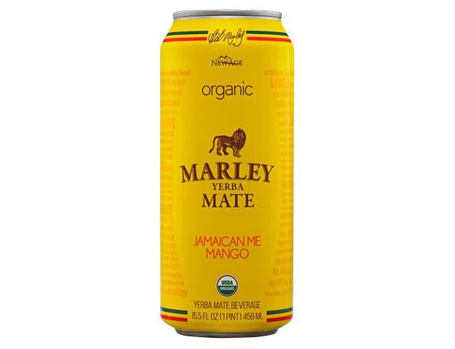 Marley Jamaican Me Mango Yerba Mate Beverage, 15.5 Fluid Ounce -- 12 per case.