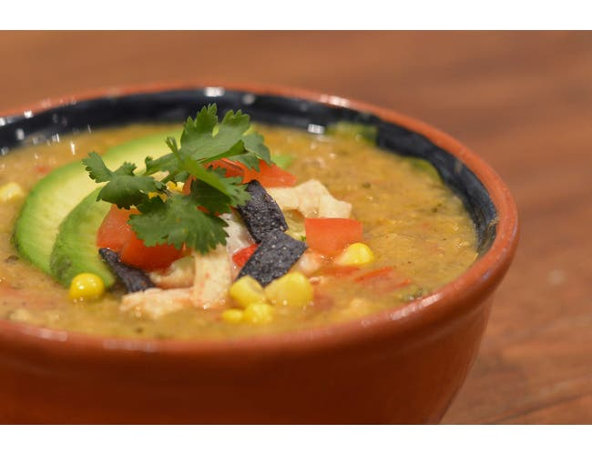 King Creole Chicken Tortilla Soup, 4 Pound -- 4 per case.