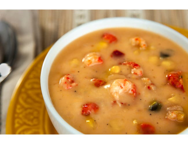 King Creole Crawfish Corn and Pepper Soup, 4 Pound -- 4 per case.