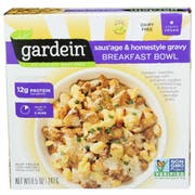 Gardein Meat Free Sausage and Homestyle Gravy Breakfast Bowl, 8.5 Ounce -- 8 per case
