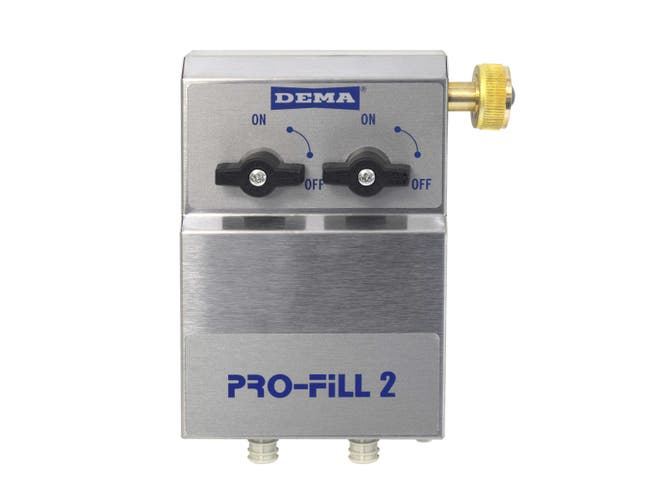 US Chemical Dema PF652 2 Product Dispenser with Action Gap -- 1 each.