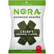 Nora Snacks Original Flavor Crispy Seaweed, 1.13 Ounce -- 12 per case