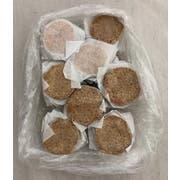 Uncut Round Vegan Gluten Free Plant Based Burger, 10.03 Pound -- 1 each