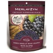 The Wine Rayzyn Merlayzyn Dried Merlot Wine Grapes, 0.5 Pound -- 6 per case