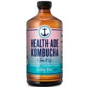 Health Ade Bubbly Rose Kombucha, 16 Ounce -- 12 per case.