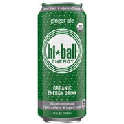 Hiball Energy Organic Ginger Ale Drink, 16 Fluid Ounce -- 24 per case.
