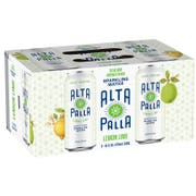 Hiball Energy Alta Palla Lemon Lime Sparkling Water, 16 Fluid Ounce -- 24 per case.