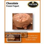 Eros Chocolate Yogurt, 2.33 Gallon -- 1 each.