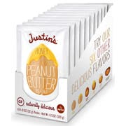 Justins Honey Peanut Butter, 1.15 Ounce -- 60 per case