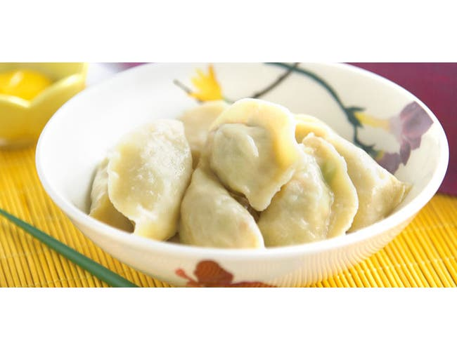 Green Dragon Whole Grain Chicken Dumpling/Potstickers -- 500 per case.