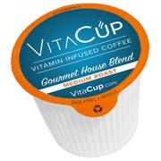 VitaCup Medium Roast Gourmet House Blend Coffee, 100 count per pack -- 1 each