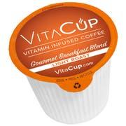 VitaCup Genius Breakfast Blend Infused Coffee, 100 count per pack -- 1 each