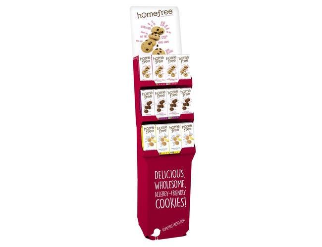 Homefree Mini Cookies - Shipper -- 1 each.