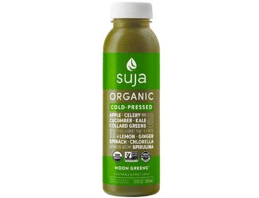 Suja Essentials Noon Greens Juice, 12 Fluid Ounce -- 6 per case.
