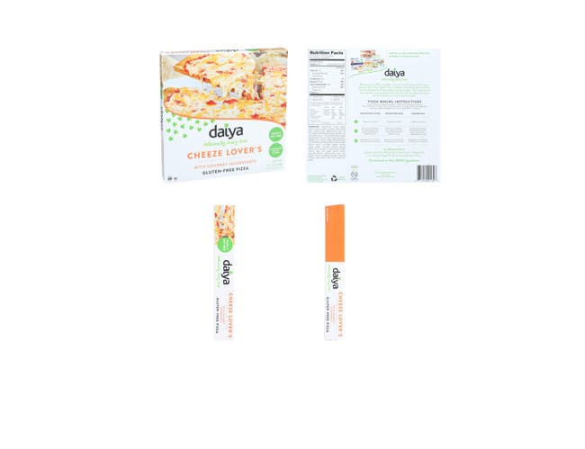 Daiya Cheeze Lovers Pizza, 15.7 Ounce -- 8 per case