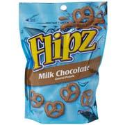 Flipz Milk Chocolate Covered Pretzel - Floorstand, 5 Ounce -- 48 per case