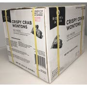 Royal Asia Sonw Crab and Shrimp Wontons, 320 pieces per pack -- 1 each