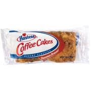 Hostess Coffee Cake and Danish - Single Serve Counter Unit -- 28 per case