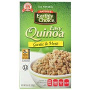 Natures Earthly Choice Organic Roasted Garlic and Olive Oil Quinoa, 4.8 Ounce -- 6 per case.