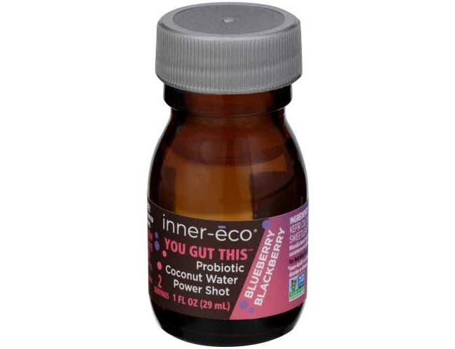 Inner Eco Probiotic Coconut Water Blueberry Blackberry Power Shot, 1 fluid ounce -- 12 per case