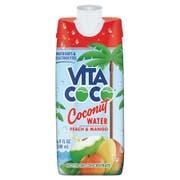 Vita Coco Peach and Mango Coconut Water, 500 Milliliter -- 12 per case.