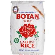 Botan Calrose Rice, 20 Pound -- 1 each