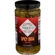 Tabasco Spicy Pickled Okra, 12 Ounce -- 6 per case