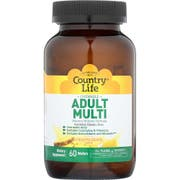 Country Life Pineapple Orange Flavor Adult Multivitamin Chewable Wafers - 60 count per pack -- 1 each