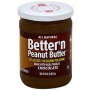 Better N Peanut Butter Chocolate Peanut Spread, 16 Ounce -- 6 per case