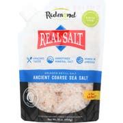 Redmond Real Salt Ancient Coarse Sea Salt Grinder, 16 Ounce -- 6 per case