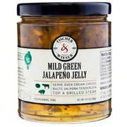 Fischer and Wieser Mild Green Jalapeno Jelly, 10.9 Ounce -- 6 per case