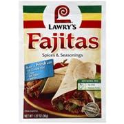 Lawrys Fajita Seasoning Mix, 1.27 Ounce -- 12 per case