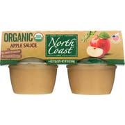 North Coast Organic Apple Sauce, 4 count per pack -- 12 per case