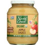 North Coast Organic Apple Sauce, 24 Ounce Jar -- 12 per case