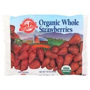 Sno Pac Organic 100 Percent Whole Strawberries, 10 Ounce -- 12 per case