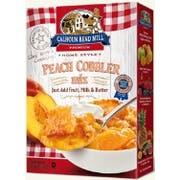 Calhon Bend Mill Peach Cobbler Mix, 8 Ounce -- 6 per case