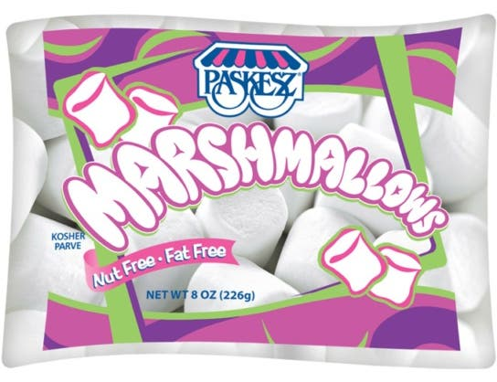 Paskesz White Marshmallow, 8 Ounce -- 12 per case