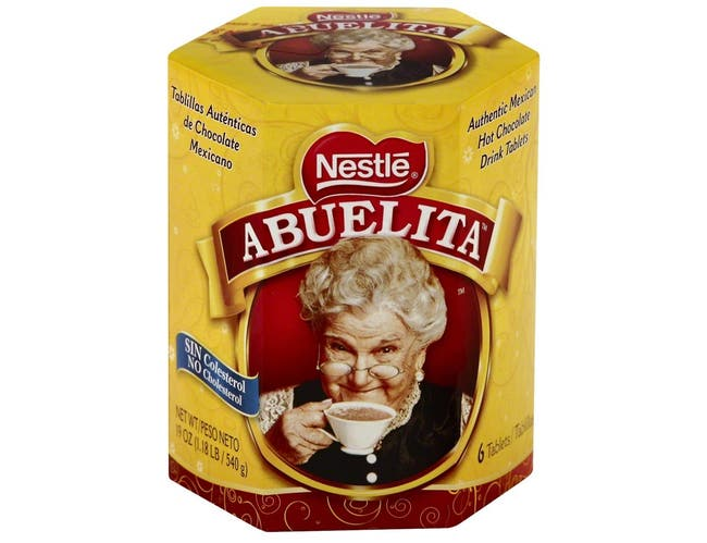Abuelita Hot Chocolate Drink Mix Tablets, 6 count per pack -- 12 per case
