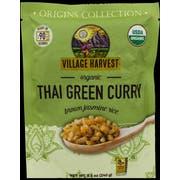 Village Harvest Organic Thai Green Curry Brown Jasmine Rice, 8.5 Ounce -- 6 per case