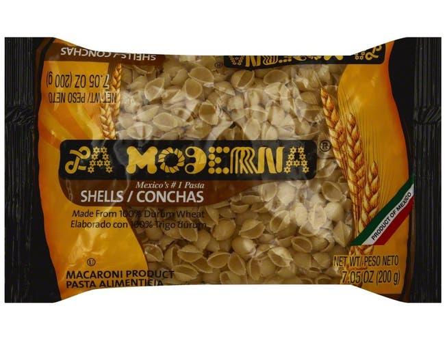 La Moderna Pasta Shells, 7 Ounce -- 20 per case