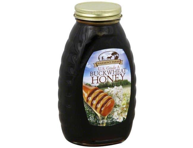 Harmony Farms Buckwheat Honey, 16 Ounce -- 6 per case