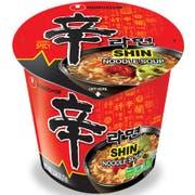 Nong Shim Instant Shin Noodles Soup Cup, 2.64 Ounce -- 6 per case